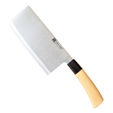 Chinese Cleaver knife, Stainless Steel Cleaver Shef Knives, Wooden Handled Cleaver Knife - Buy Online