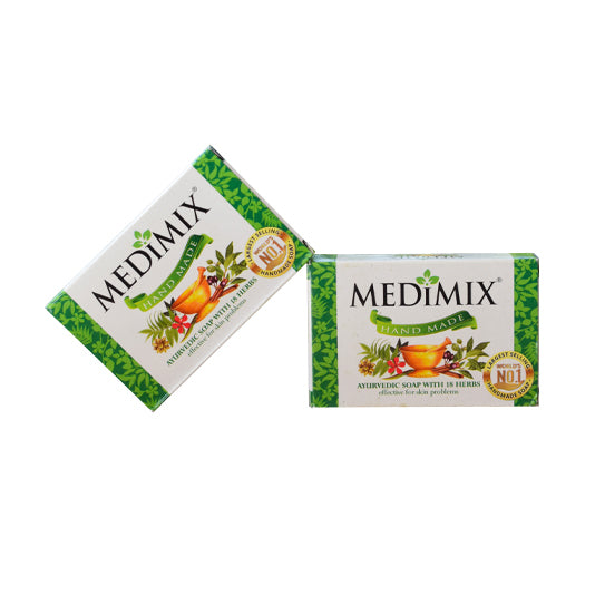 Medimix -Green -Hand made soap-Medimix Ayurvedic Soap Buy Online
