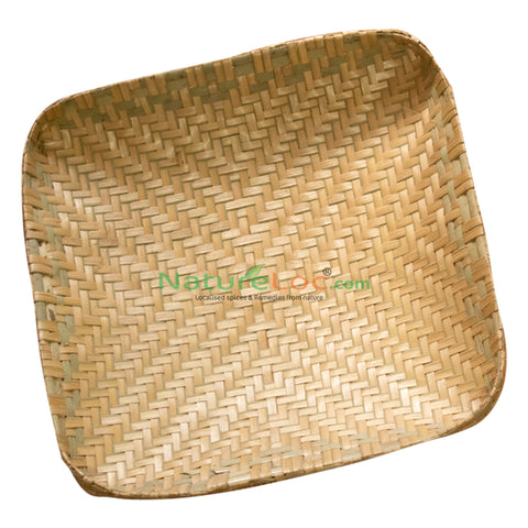 Muram, Muram from Kerala, Kerala Traditional Eeta Muram, Square Shaped Tray Made of Bamboo Reed - Buy Online