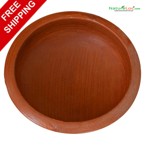 Clay Curry Pot, Handmade Clay Pot, Fish Curry Pot, Clay Earthen Pot, Traditional Clay Pot, Mankalam, Kerala Nadan Manchatty, Curry chatty - Buy Online