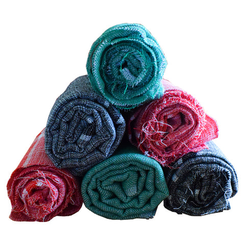 Thorth Kerala Colored Bath Towel 100% Cotton - Buy Online