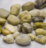 Pebbles Lemon Yellow - Gardening Pebbles, Aquarium Decorative Stones, Aquarium Pebbles - Pebbles Buy Online