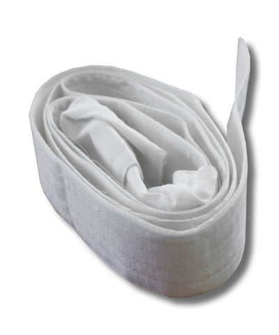White Coloured Belt for Mundu, Cotton Belt for Mundu, Cloth Belt, Sticky belt for Mundu - Buy Online