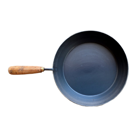 Iron Pan With Handle, Wooden Handle Iron Pan - Buy Online