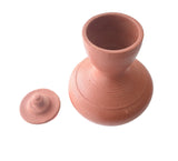 Clay Water Jug, Handmade Clay Jug With Lid - Earthenware - Buy Online