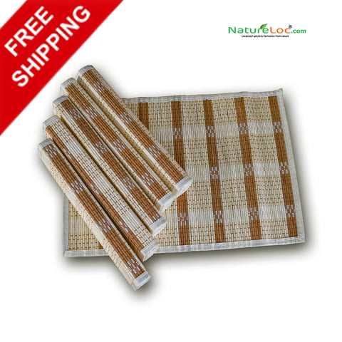 Bamboo Placemats, Table Placemats - Buy Online