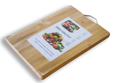 Wooden Cutting Board, Bamboo Chopping Board, Wooden Chopping Board with wall hanging hook - Buy Online