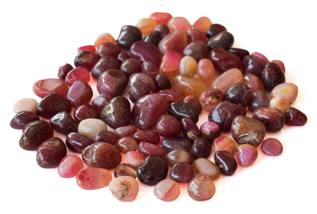 Pebbles Onyx Purple - Gardening Pebbles, Aquarium Decorative Stones, Aquarium Pebbles - Pebbles Buy Online