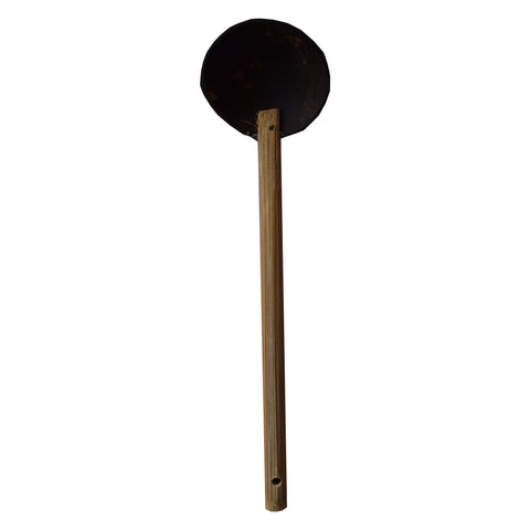 Coconut Shell Spoon, Round Shaped, Small Size - Chirata Kayil - Buy Online