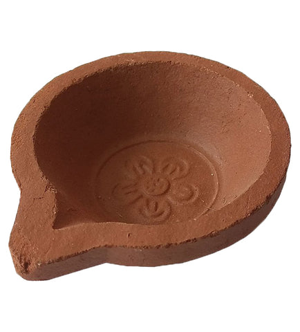 Chirathu - Traditional Earthern Clay / Terracotta Decorative Dipawali Diya / Diwali Diya - Buy Online