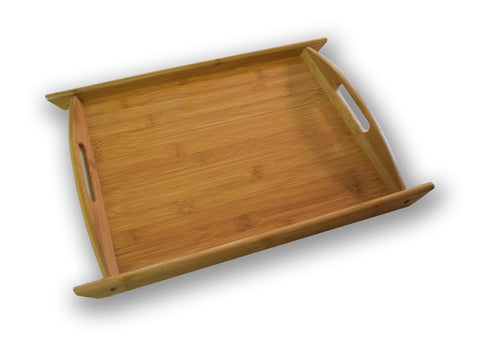 Wooden Bamboo Serving Tray, Bamboo Tray, Serving Tray - Buy Online