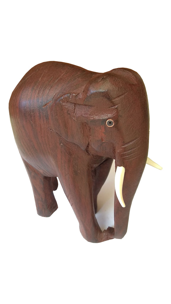 Wooden Carved Elephant - Buy Online