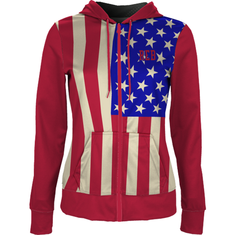 Old Glory Zip-Front