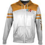 White Diamond Varsity Zip-Front