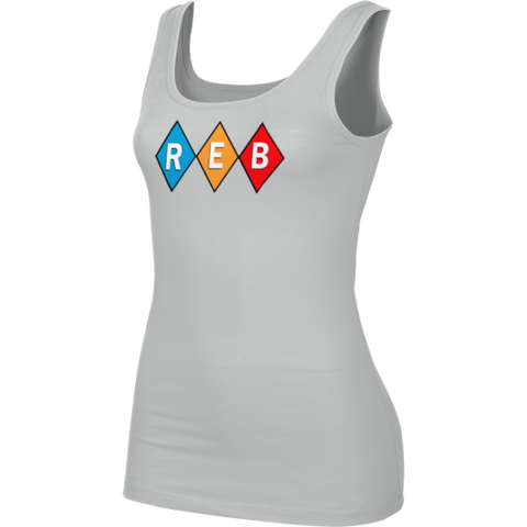 Reb Diamond Girls Gray Tank Top