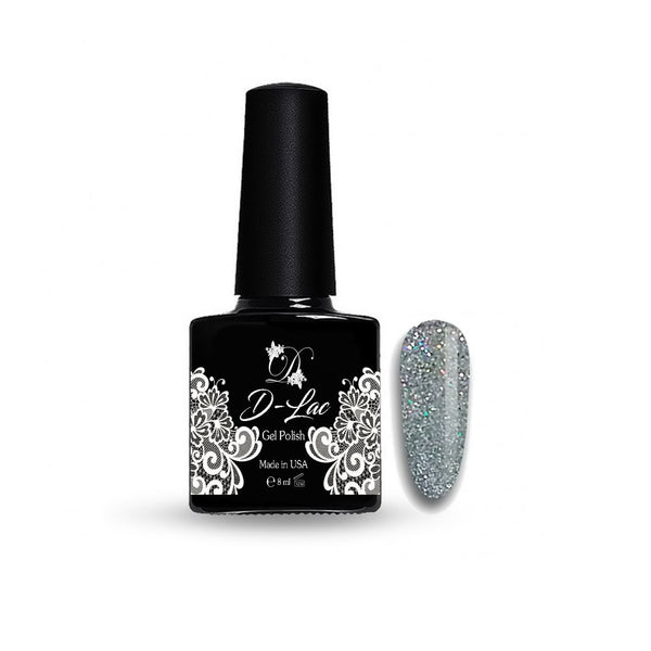 D-Lac 98 Glitter Multi Smalto Gel 8 ml