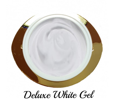 Deluxe White Gel - French gel alta densità
