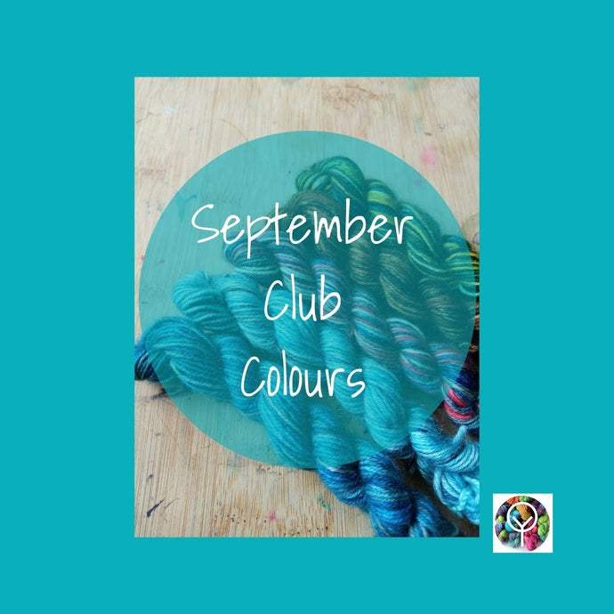 September Clubs - Autumn arrives and celebrating my wedding anniversary