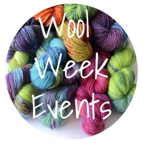 Wool Week - 10th October until 16th October - Events!