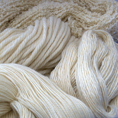 Undyed 100% Bluefaced Leicester British wool, DK, Single ply, Chunky, 4ply, sock