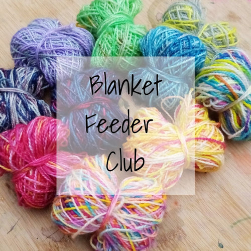 Blanket feeder subscription - 4ply