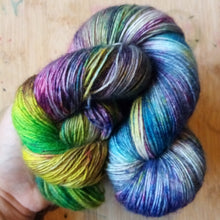 Anxious Zombie - Halloween collection - Poppy 4ply - British Bluefaced Leicester