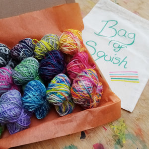 Scrappy Blanket 4ply starter kit - everything you need to start growing your own blanket