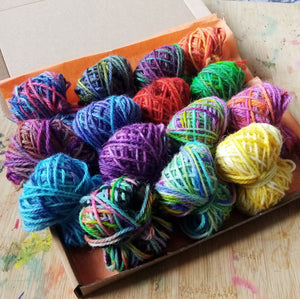 Scrappy Blanket DK starter kit - everything you need to start growing your own blanket