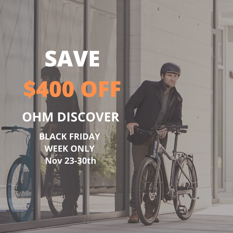 OHM Electric Bikes Black Friday