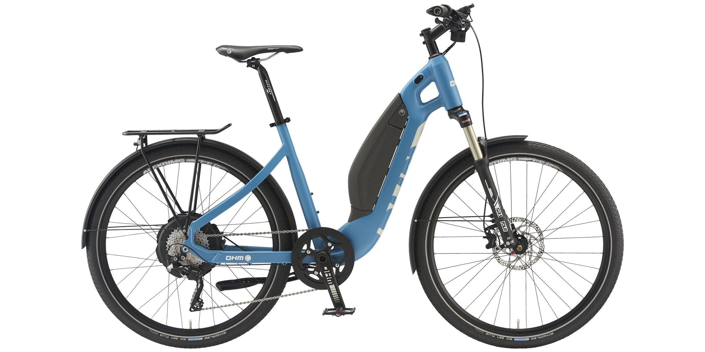 City 350 E-Bike OHM Electric Bikes 15""