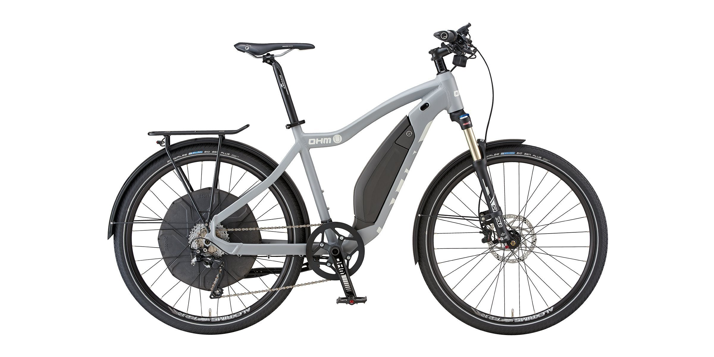 Urban E-Bike OHM Electric Bikes 16.5""