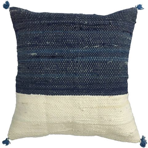 Injiri - Indigo Cushion Cover - Large