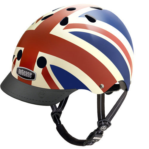 Nutcase Union Jack bike and skate helmet