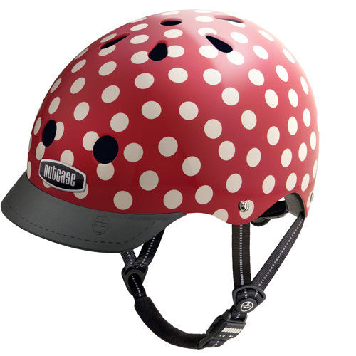 Nutcase Mini Dots Bike and Skate Helmet