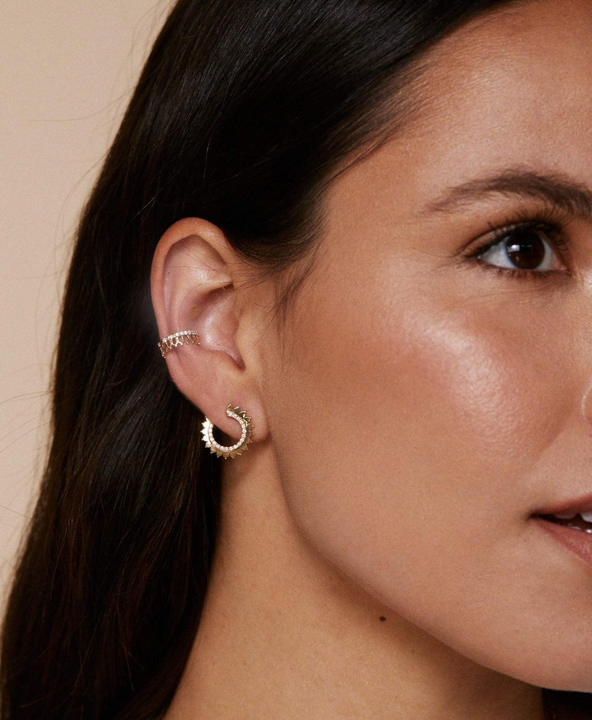 Gold Earrings: Discover Luxury Fine Jewelry | Nouvel Heritage || Yellow Gold