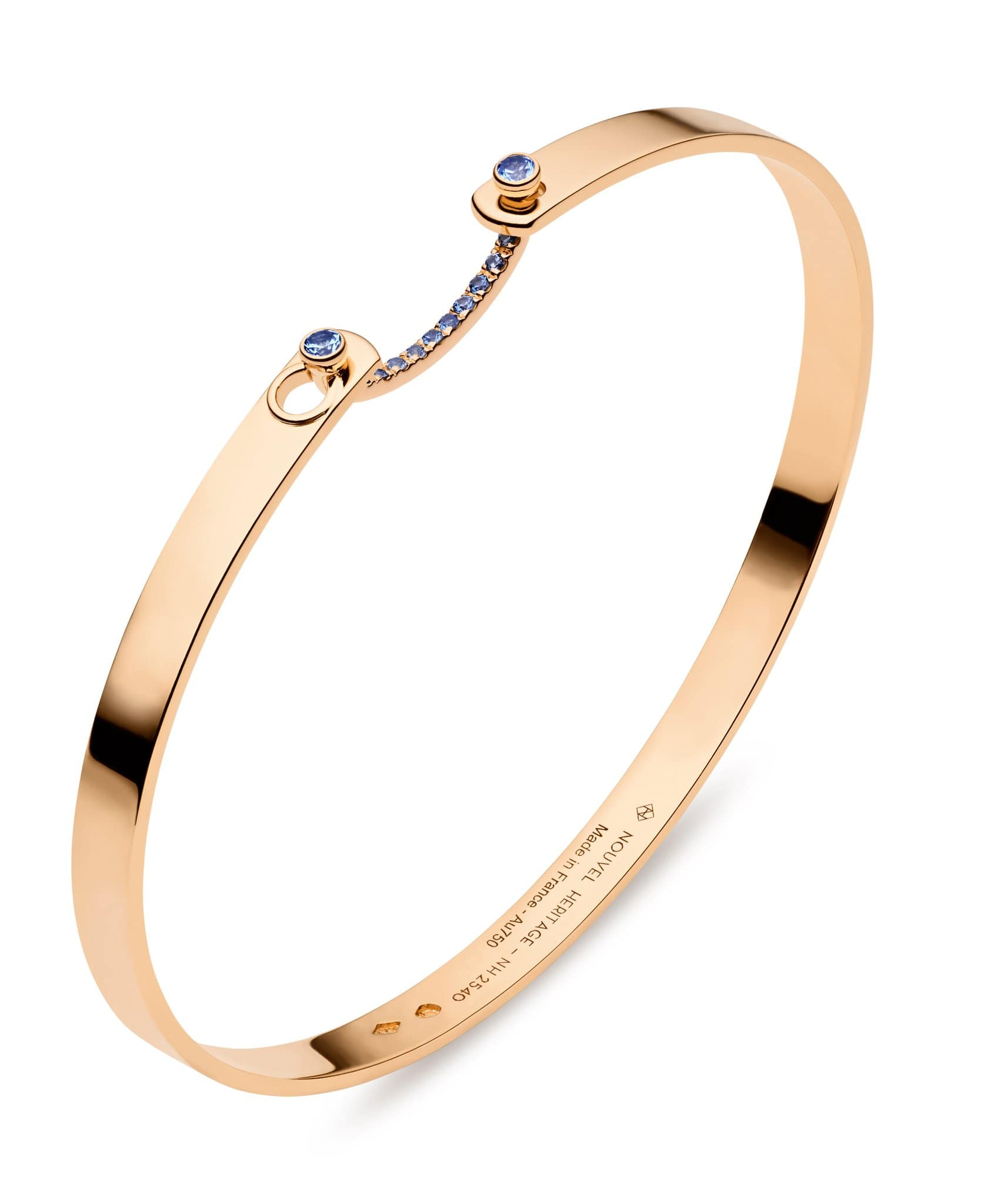 Baby Blue Mood Bangle: Discover Luxury Fine Jewelry | Nouvel Heritage