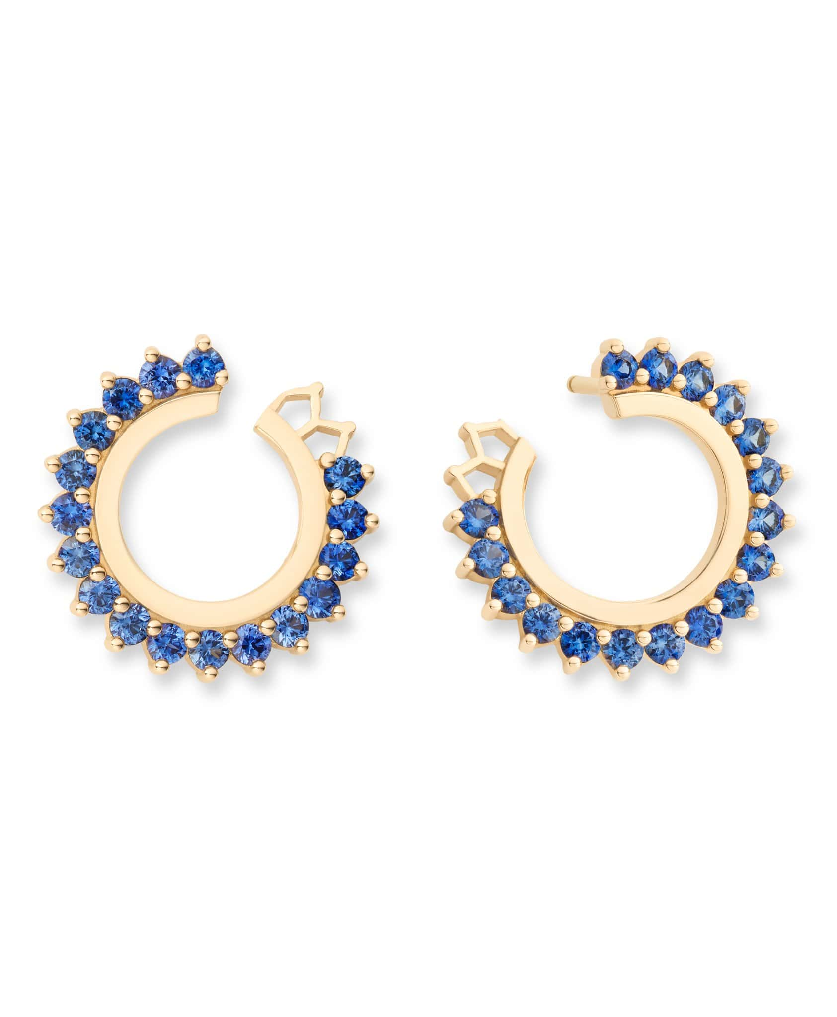 Blue Sapphire Earrings: Discover Luxury Fine Jewelry | Nouvel Heritage
