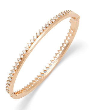 Diamond Claude Bangle - Nouvel Heritage