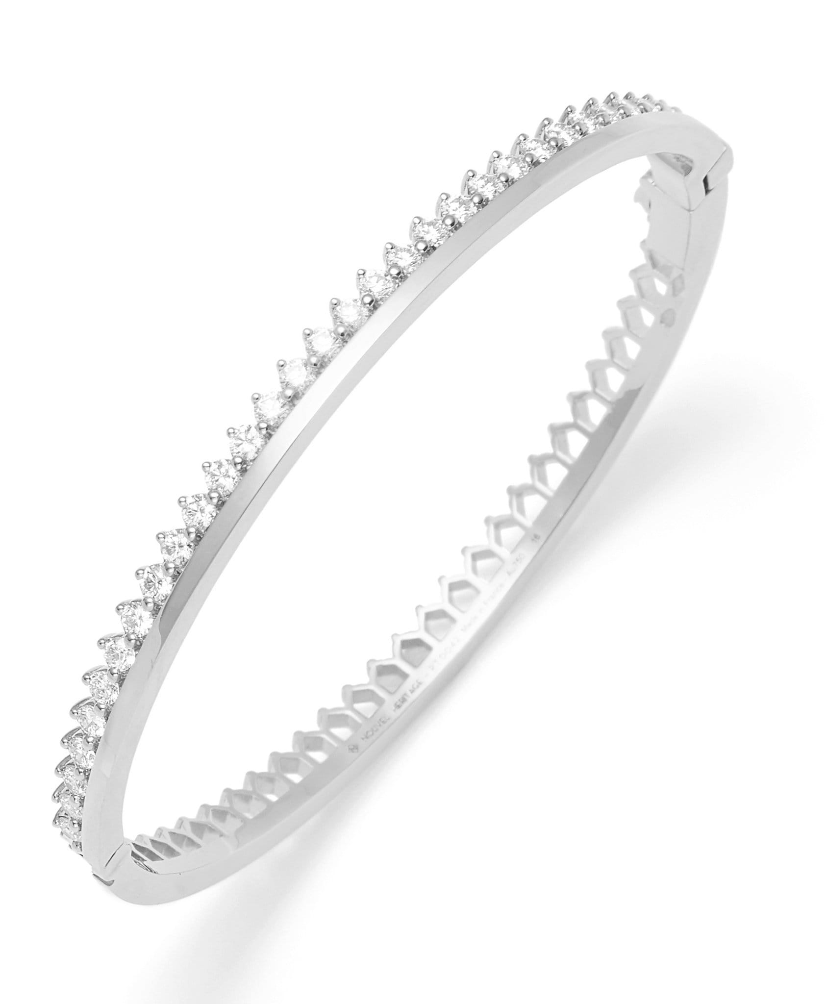 Diamond Claude Bangle: Discover Luxury Fine Jewelry | Nouvel Heritage