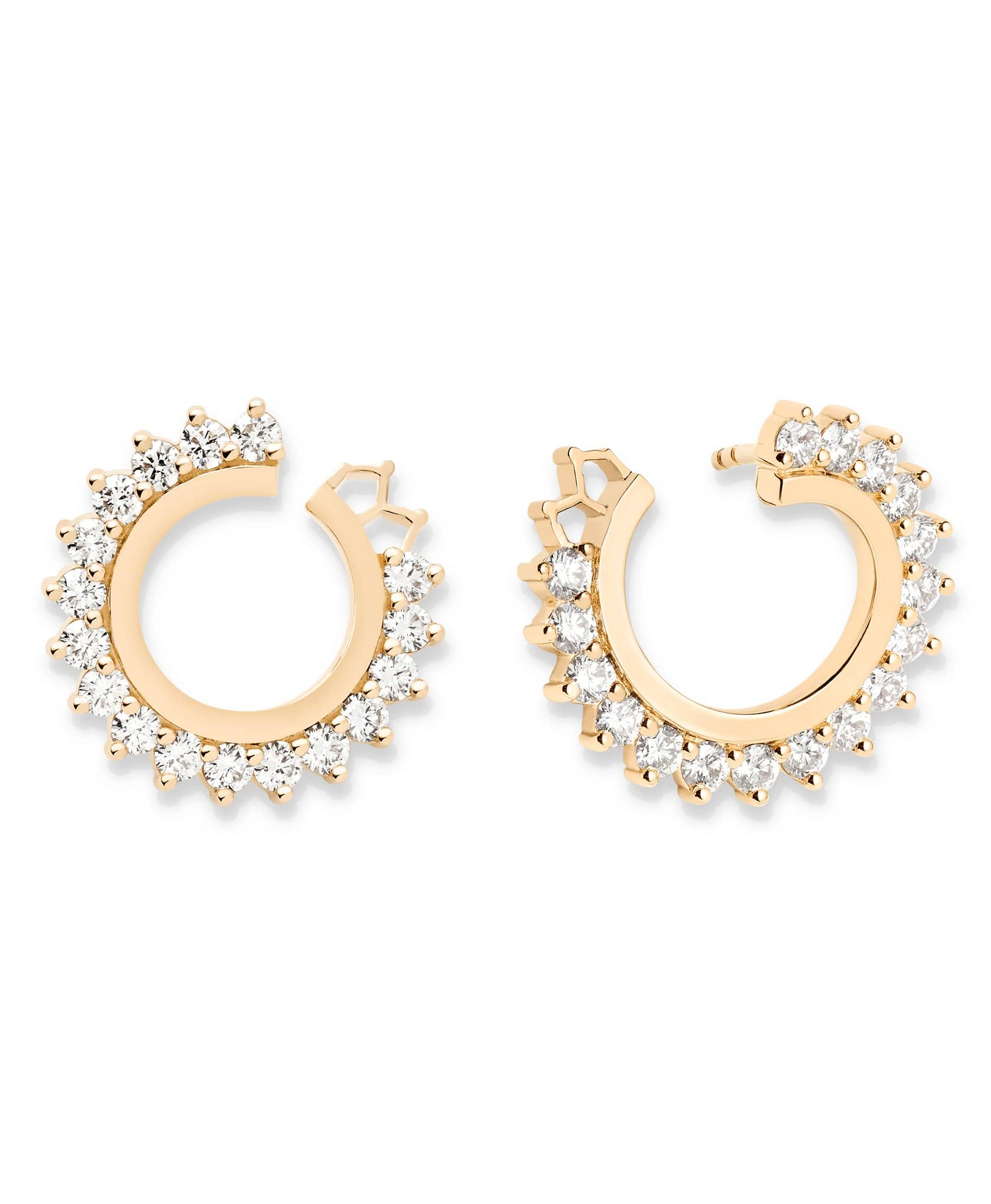 Diamond Earrings: Discover Luxury Fine Jewelry | Nouvel Heritage || Rose Gold