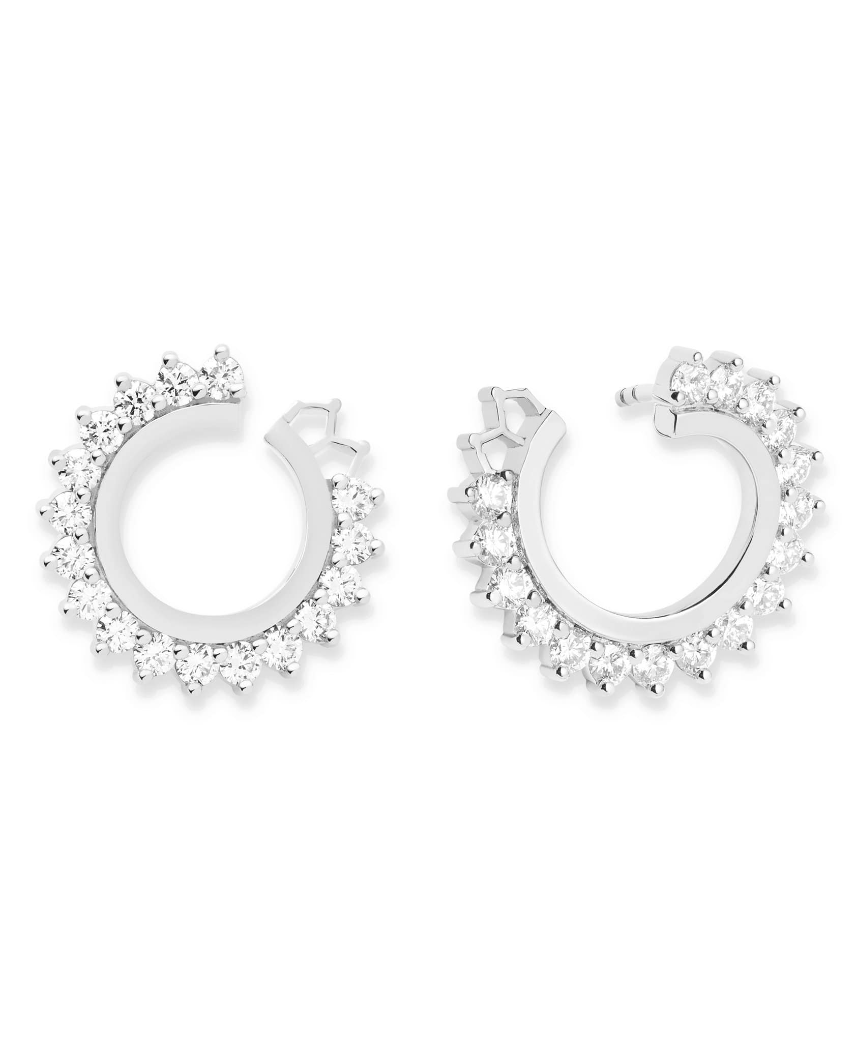 Diamond Earrings: Discover Luxury Fine Jewelry | Nouvel Heritage || White Gold