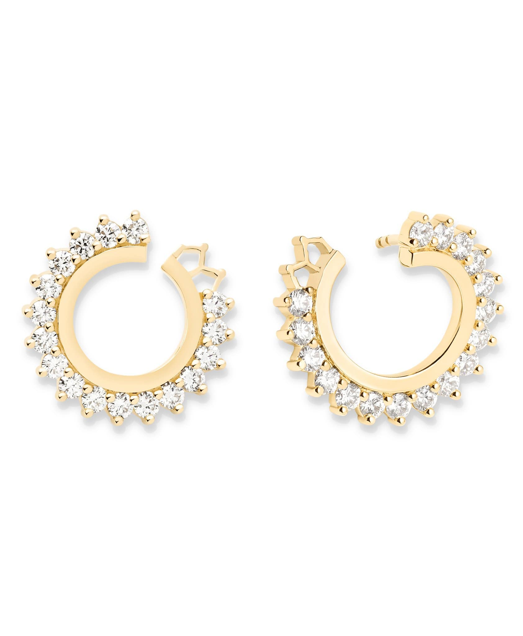 Diamond Earrings: Discover Luxury Fine Jewelry | Nouvel Heritage || Yellow Gold