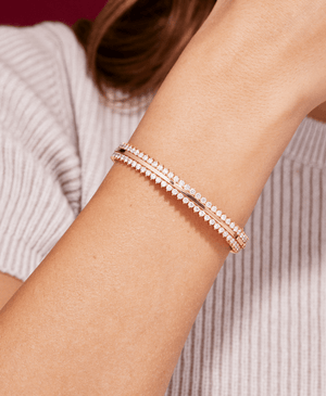 Diamond Leon Bangle - Nouvel Heritage