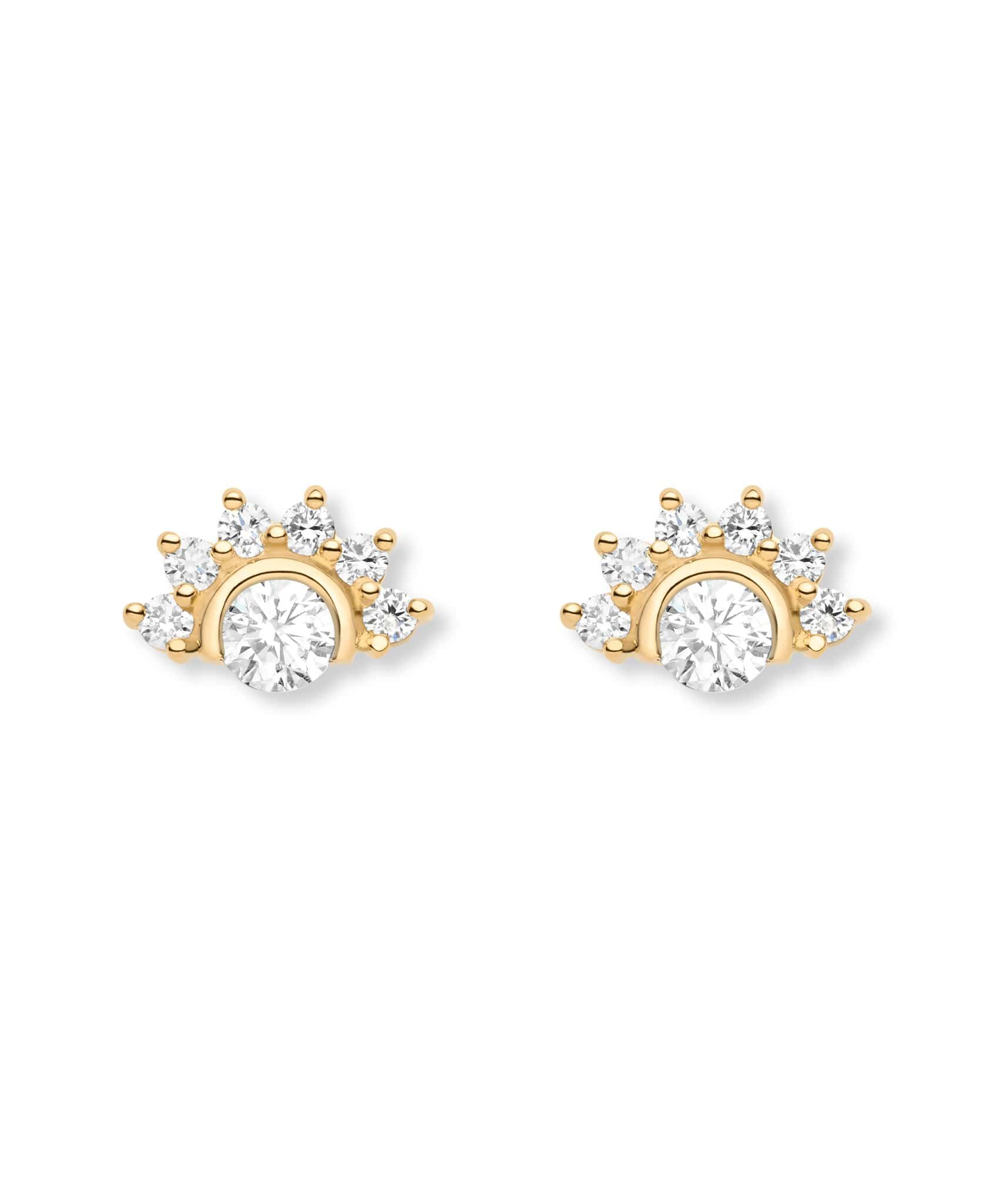 Diamond Studs: Discover Luxury Fine Jewelry | Nouvel Heritage || Yellow Gold