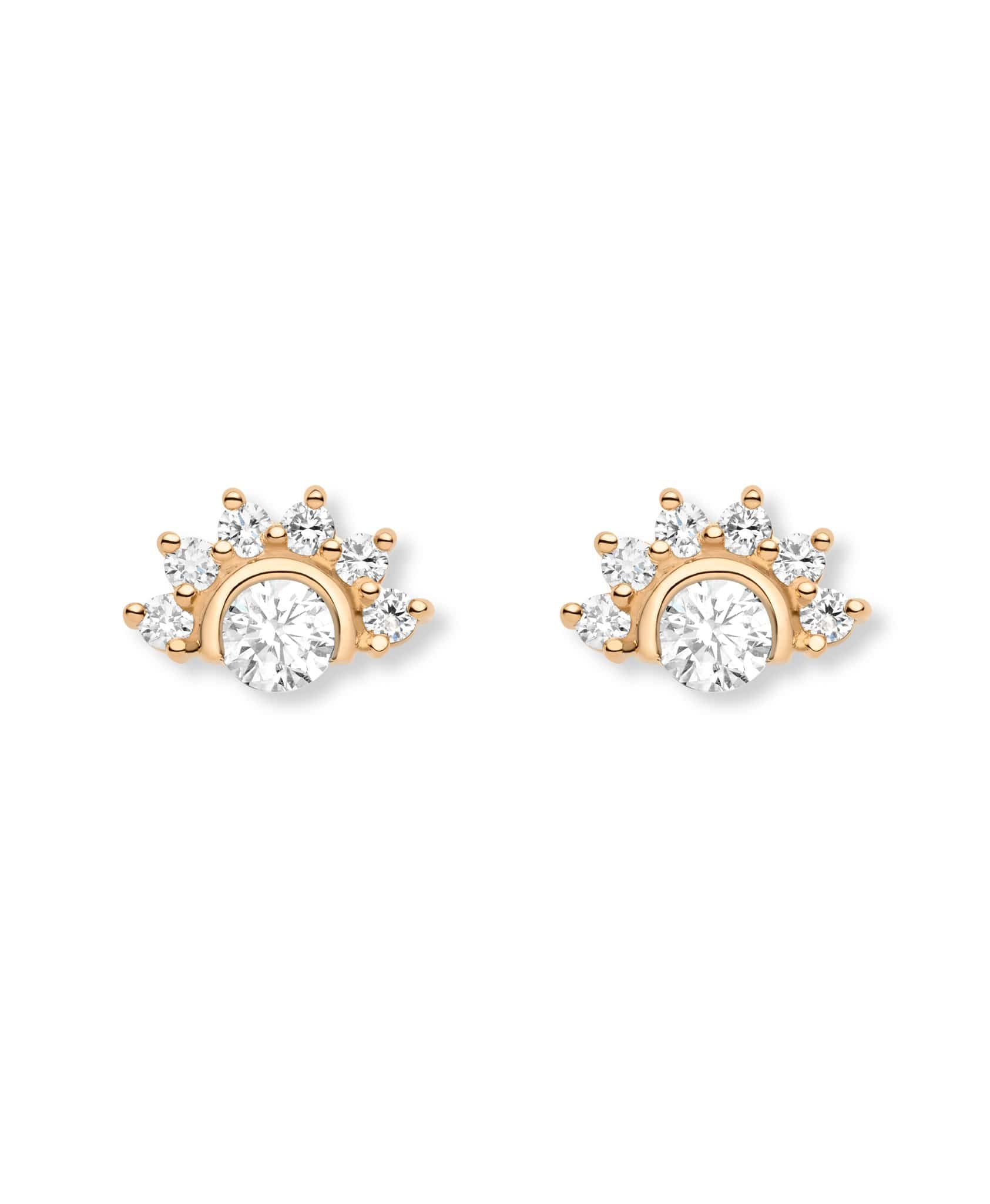 Diamond Studs: Discover Luxury Fine Jewelry | Nouvel Heritage || Rose Gold