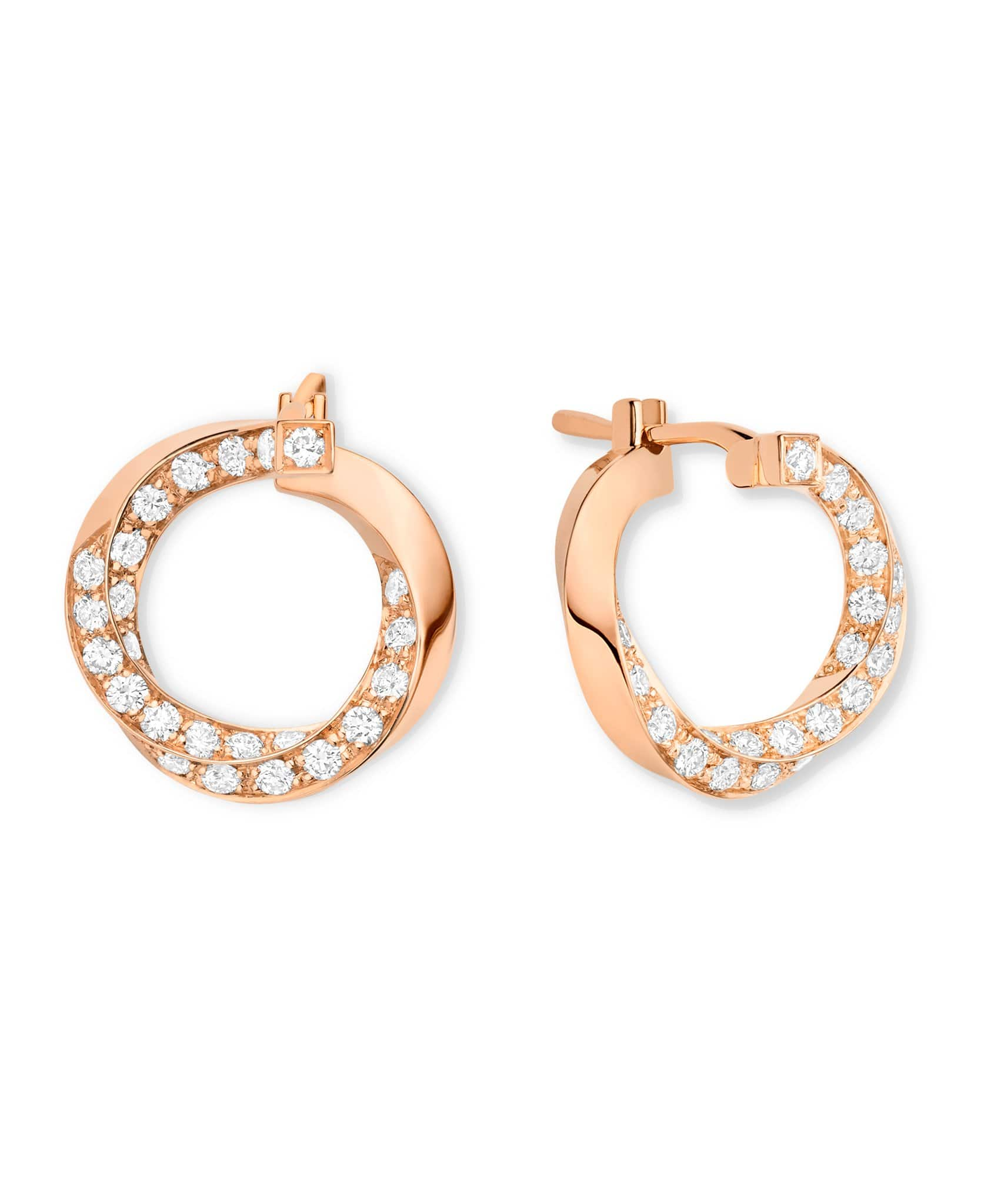 Diamond Thread Earrings: Discover Luxury Fine Jewelry | Nouvel Heritage || Rose Gold