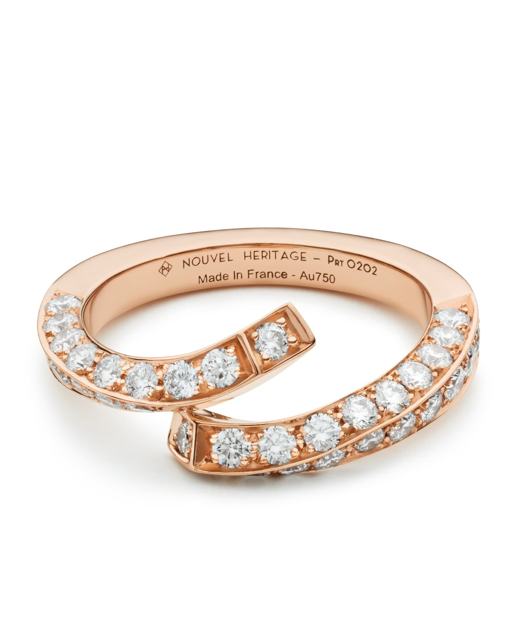 Diamond Thread Ring: Discover Luxury Fine Jewelry | Nouvel Heritage