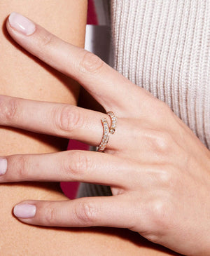 Diamond Thread Ring - Nouvel Heritage