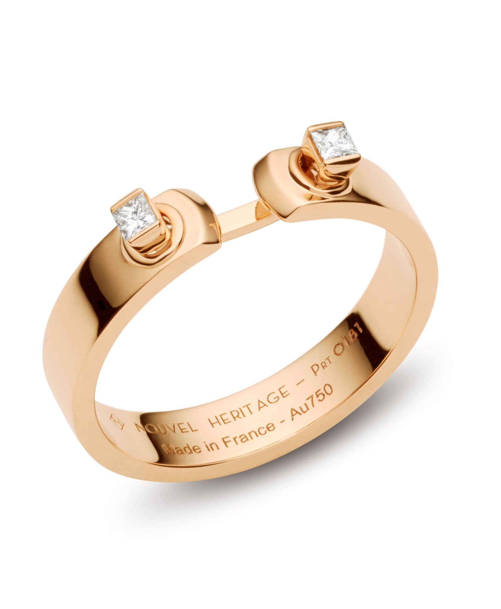 Dinner Date Mood Ring: Discover Luxury Fine Jewelry | Nouvel Heritage || Rose Gold