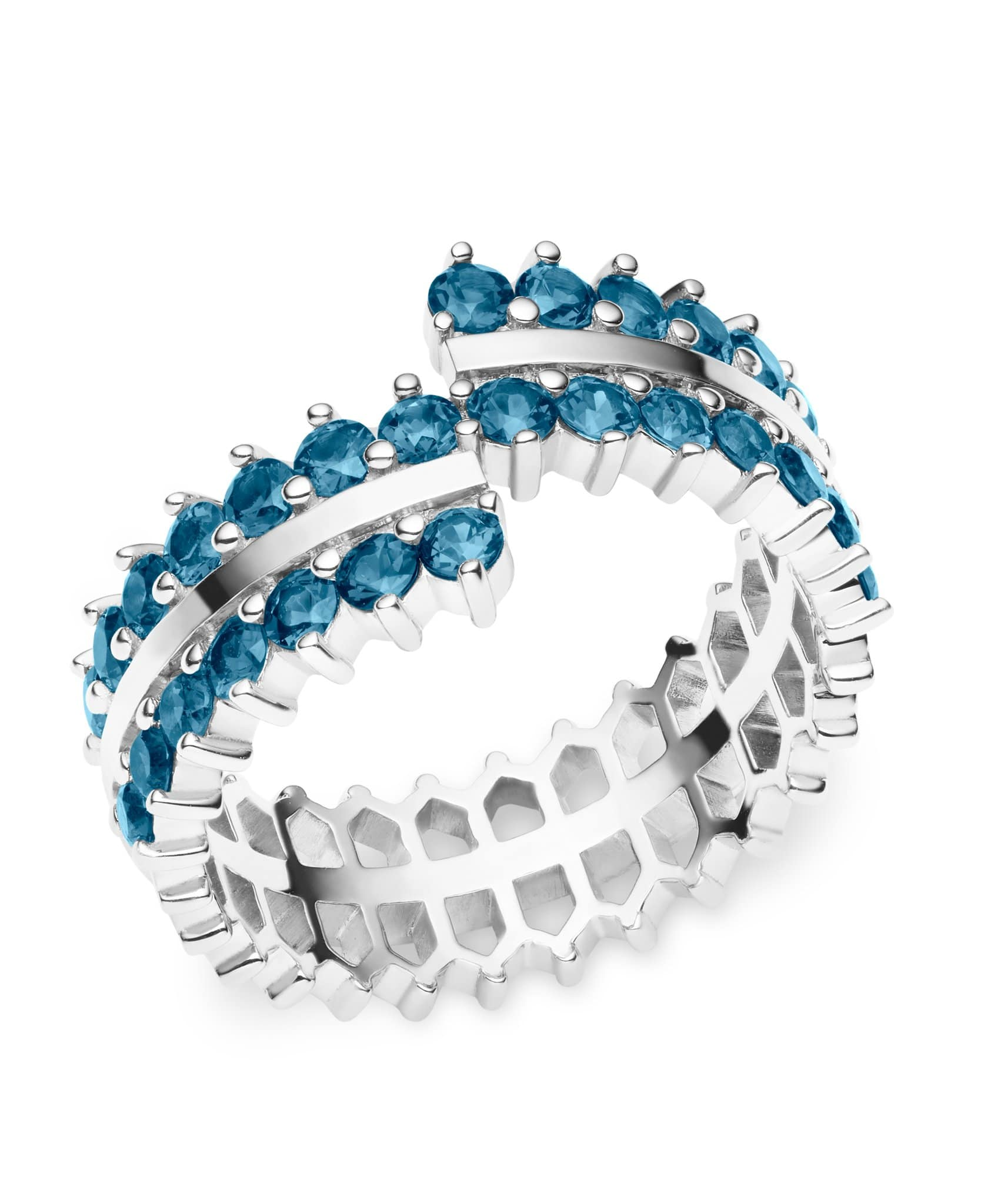 Double Full Sapphire Ring: Discover Luxury Fine Jewelry | Nouvel Heritage